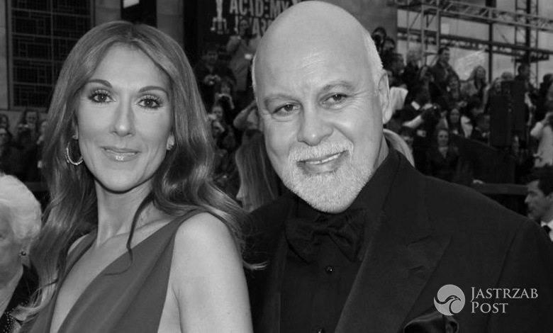 Mąż Celine Dion nie żyje
