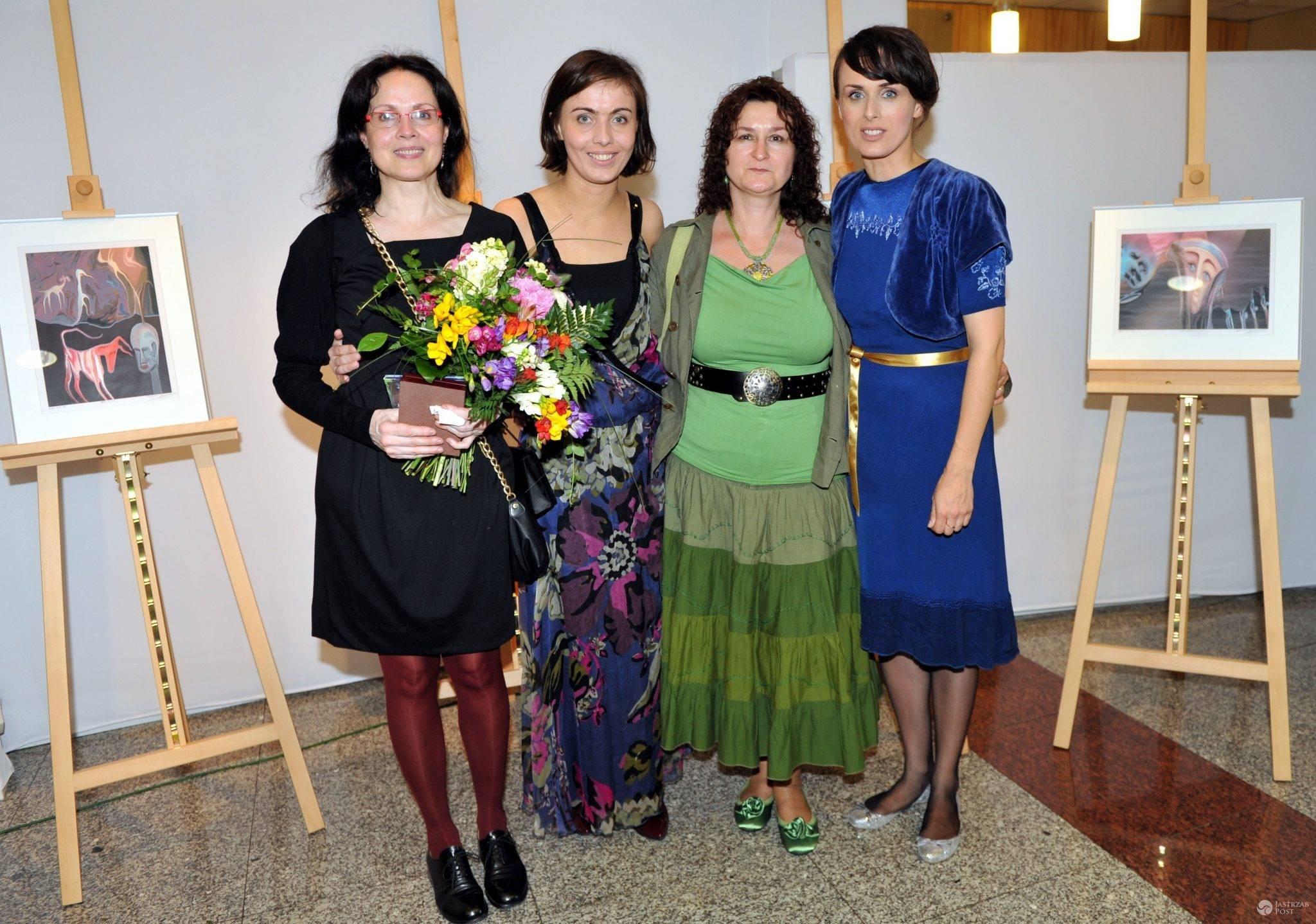 Małgorzata Niemen, Eleonora Niemen, Maria Gutowska i Natalia Niemen