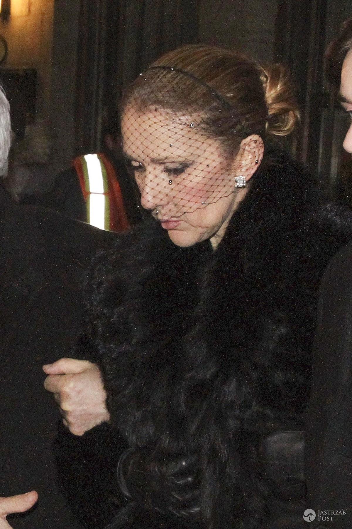 Pogrzeb Rene Angelil, męża Celine Dion fot. East News