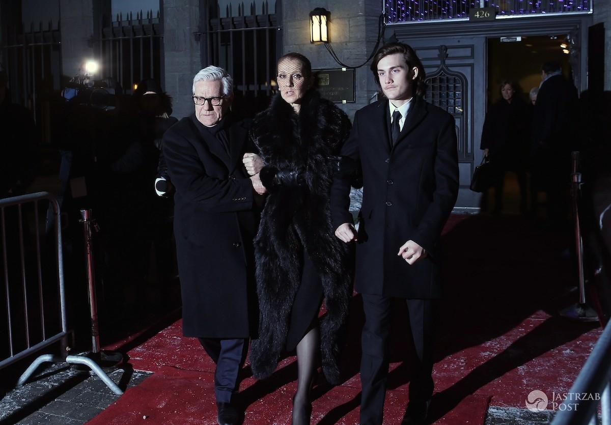 Przemówienie Patricka i Jean-Pierre'a synów Rene Angelila na pogrzebie ojca fot. East News