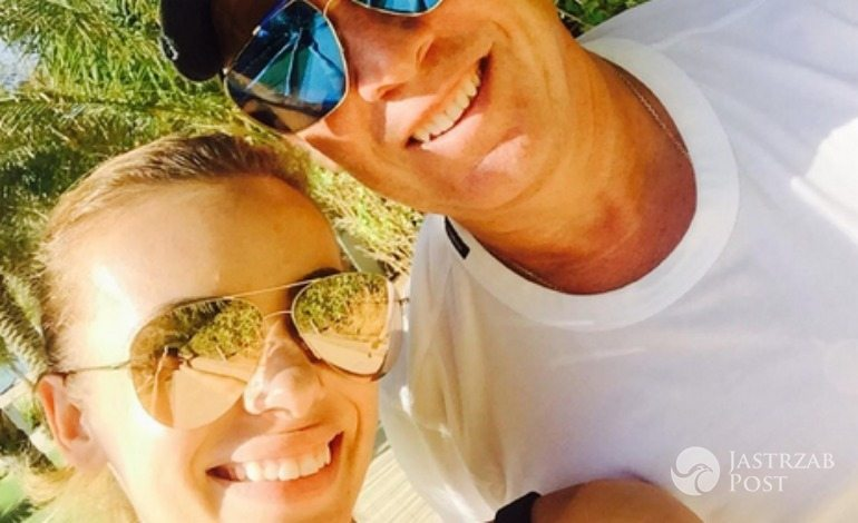 Izabela Janachowska na wakacjach z mężem