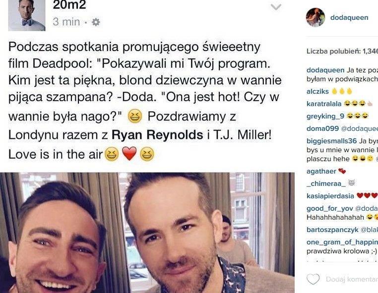 Doda (fot. Instagram)