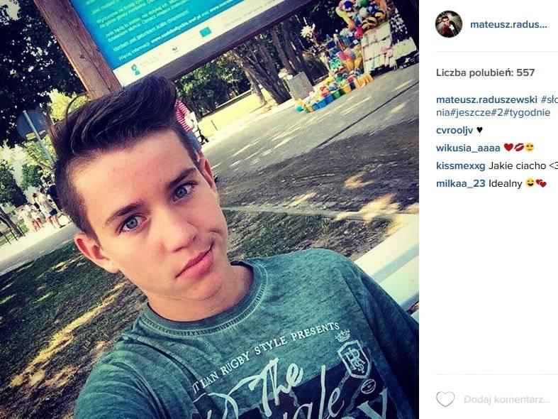 Mateusz Raduszewski (fot. Instagram)