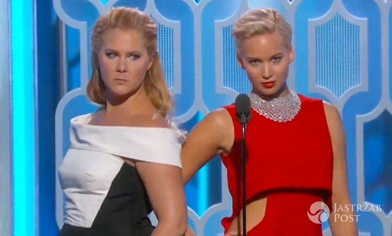 Amy Schumer i Jennifer Lawrence, Złote Globy 2016