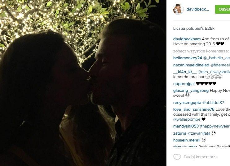 David i Victoria Beckhamowie składają noworoczne życzenia