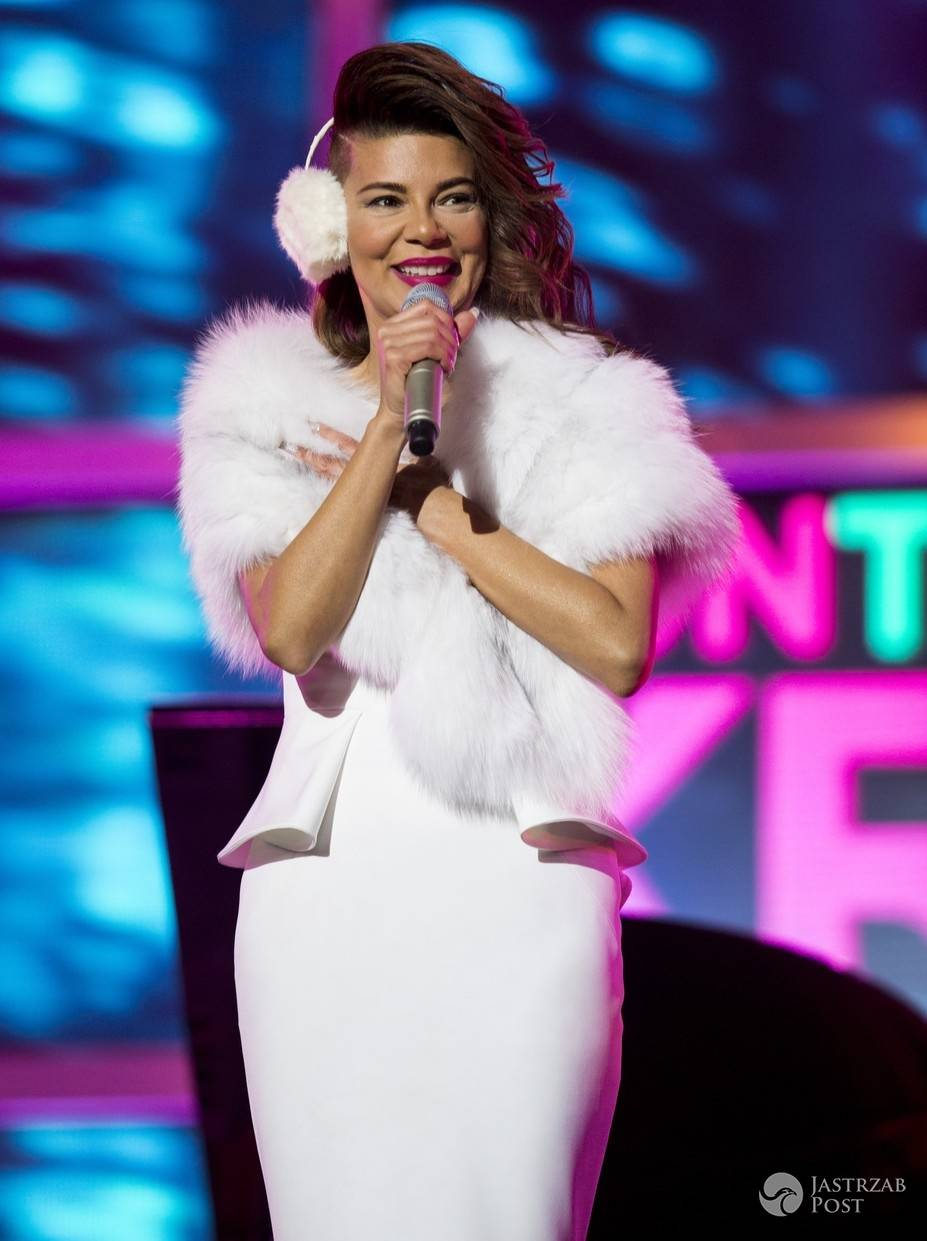 Edyta Górniak, sylwester TVN 2015, Kraków (fot. AKPA)