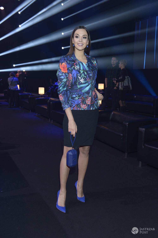 Paulina Krupińska w niebieskich szpilkach na wiosennej ramówce TVN 2016