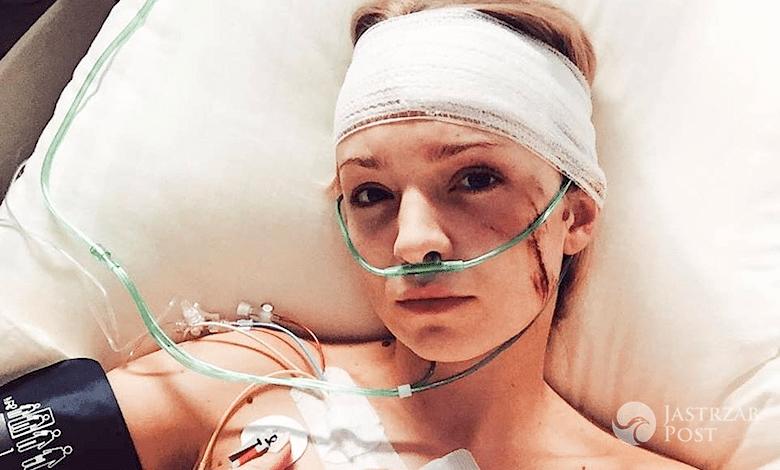 Barbara Kurdej-Szatan w szpitalu w M jak miłość