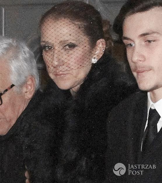 Celine Dion na pogrzebie Rene Angelil