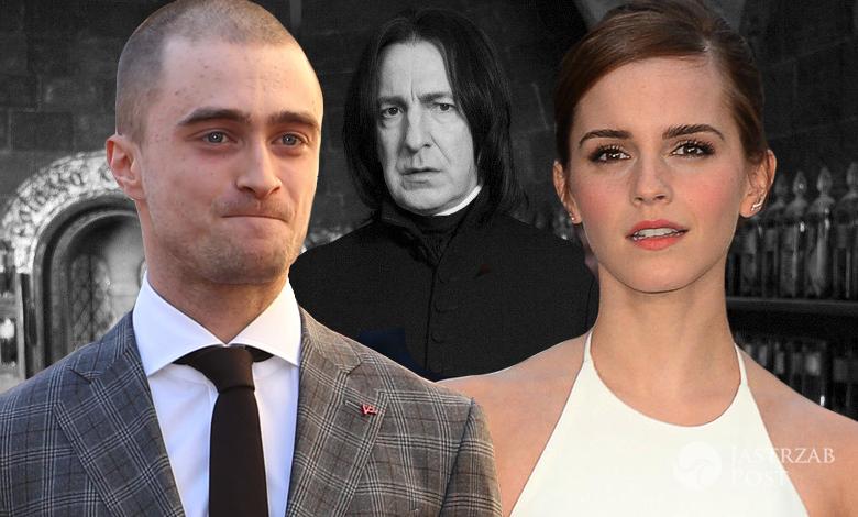 Daniel Radcliffe i Emma Watson wspominają kolegę z planu
