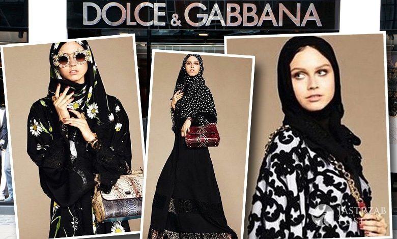 Stroje dla kobiet z krajów muzułmańskich od Dolce & Gabbana (fot. ONS, Instagram)