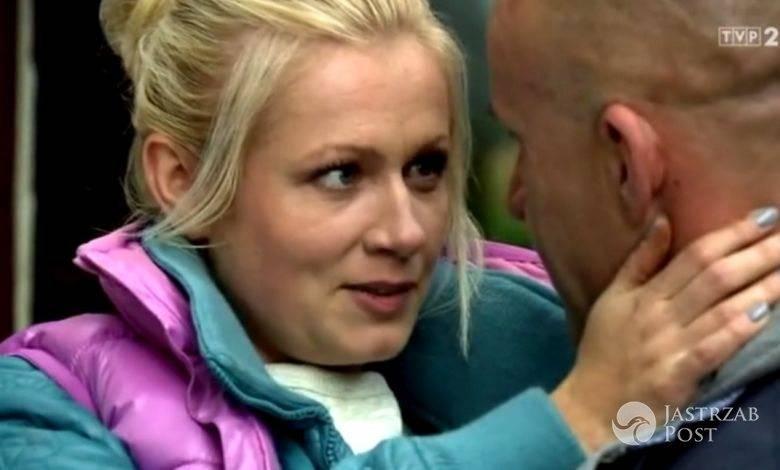M jak miłość odcinek 1191, Marzenka (Olga Szomańska), Andrzejek (Tomasz Oświeciński), fot: MTL Maxfilm