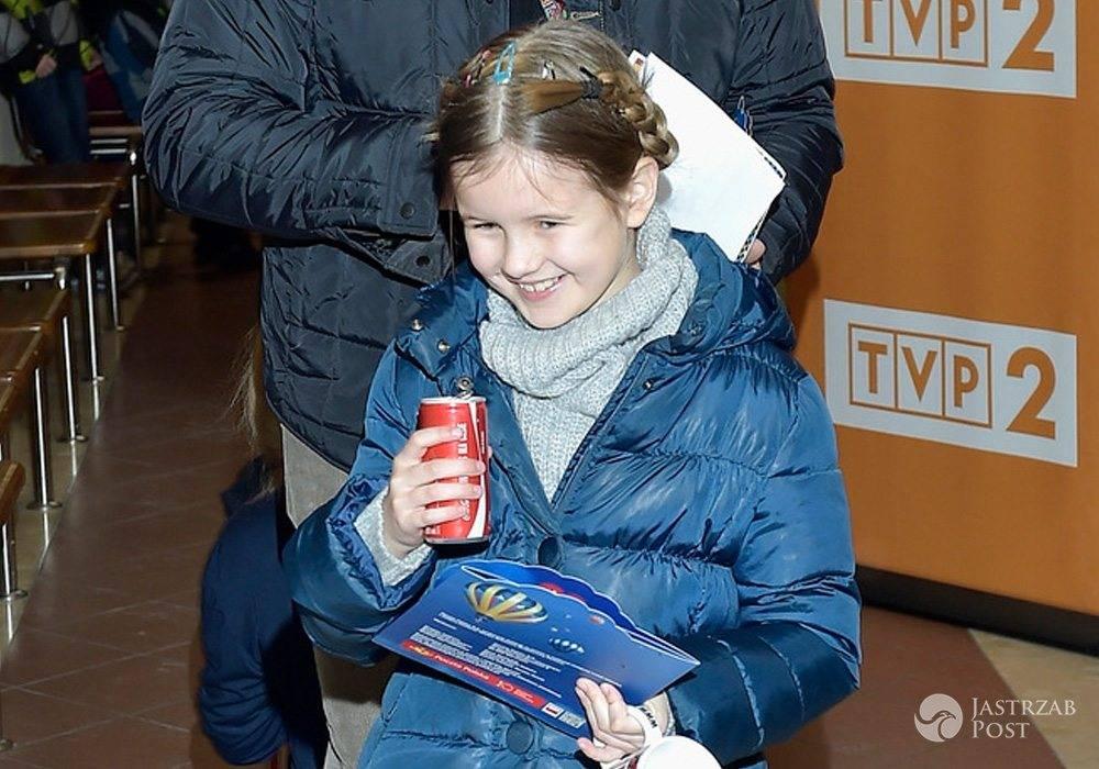 Lena - córka Tomasza Karolaka i Violi Kołakowskiej