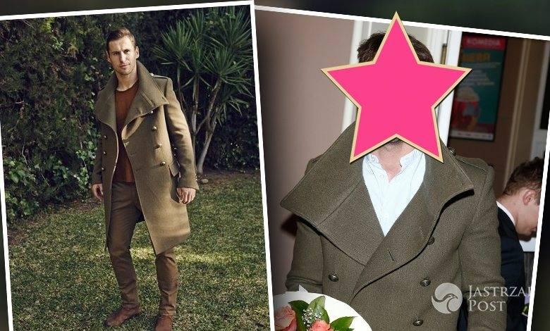 Grzegorz Krychowiak w płaszczu Balmain dla H&M (fot. Instagram)