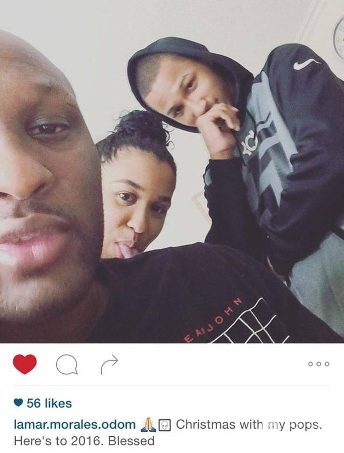 Pierwsze zdjęcie Lamara Odoma po chorobie