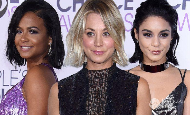 Gwiazdy z fryzurą typu long bob na People's Choice Awards 2016 (fot. ONS)