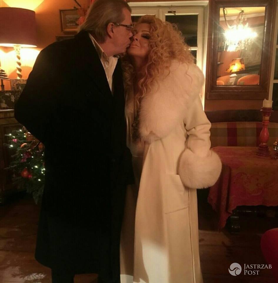 Magda Gessler i Waldemar Kozerawski przed sylwestrową zabawą
