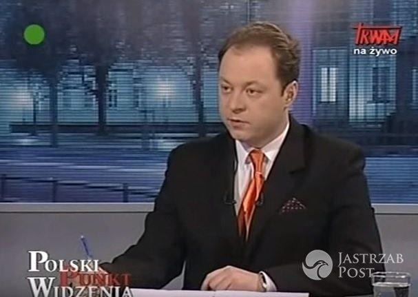 Klaudiusz Pobudzin nowym reporterem Wiadomoścci TVP fot. screen z youtube.com