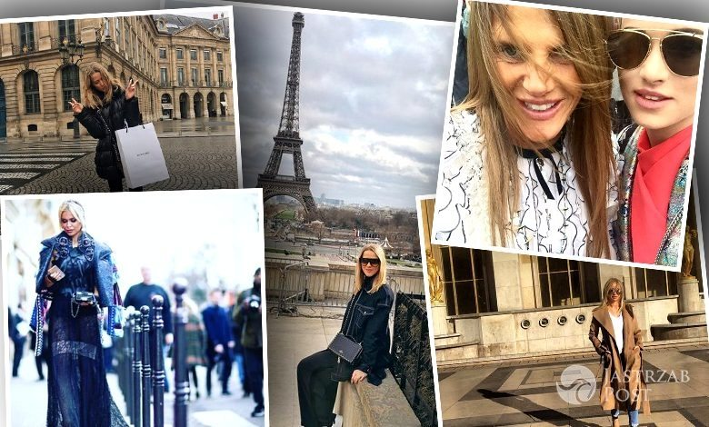 Polskie gwiazdy na Paris Fashion Week 2016 (fot. Instagram)