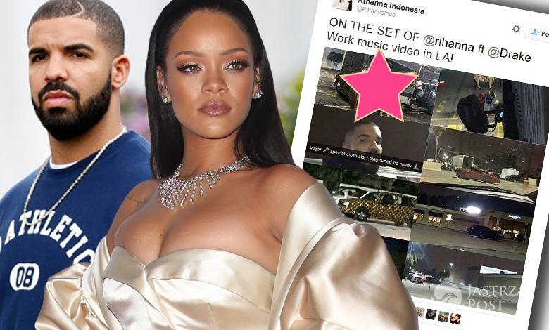 Drake i Rihanna kręcą teledysk do Work