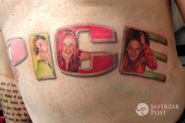 Tatuaż ze Spice Girls fot. reddit.com