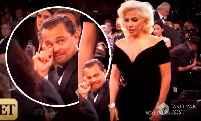Mina Leonardo DiCaprio na Złotych Globach 2016
