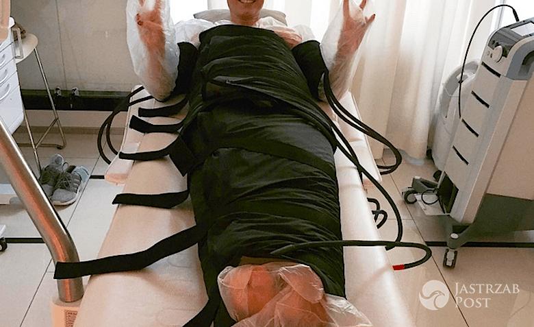 Zosia Ślotała odchudza się Terapią Cool