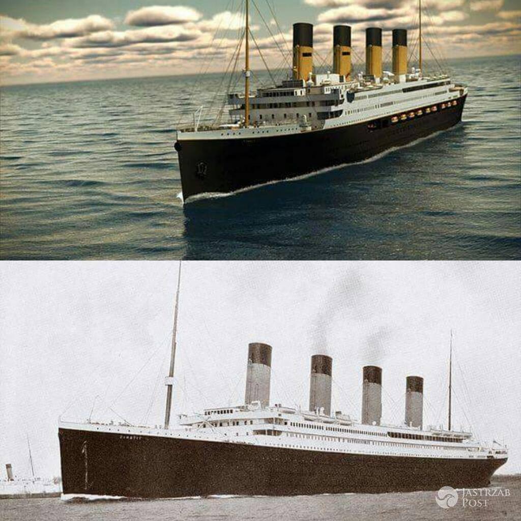 Replika Titanica z pierwowzór