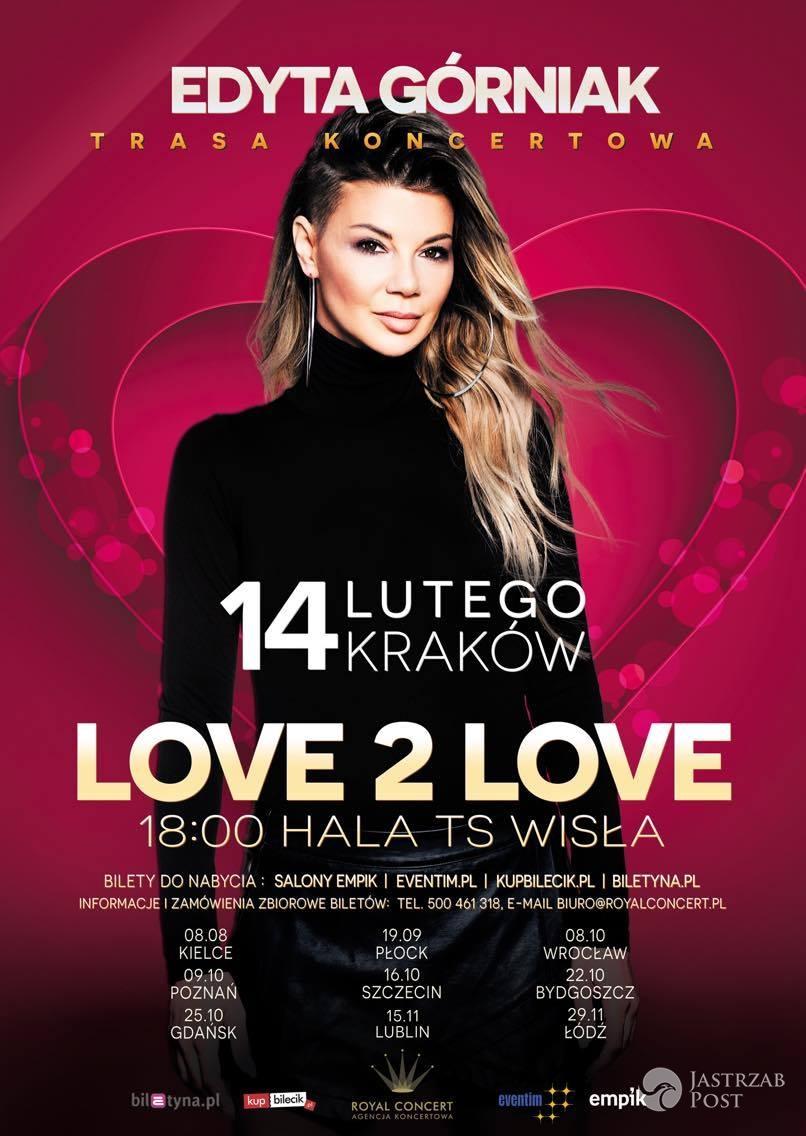 Edyta Górniak w Krakowie zaśpiewa Grateful - piosenkę na Eurowizję 2016