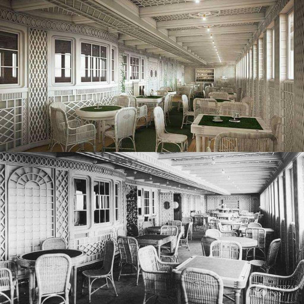 Restauracja - Replika Titanica i pierwowzór