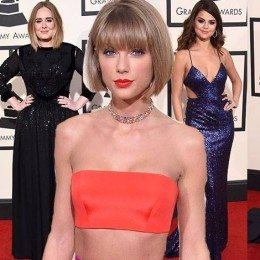 Gwiazdy na Grammy 2016: Taylor Swift, Selena Gomez, Lady Gaga, Carrie Underwood, Adele…
