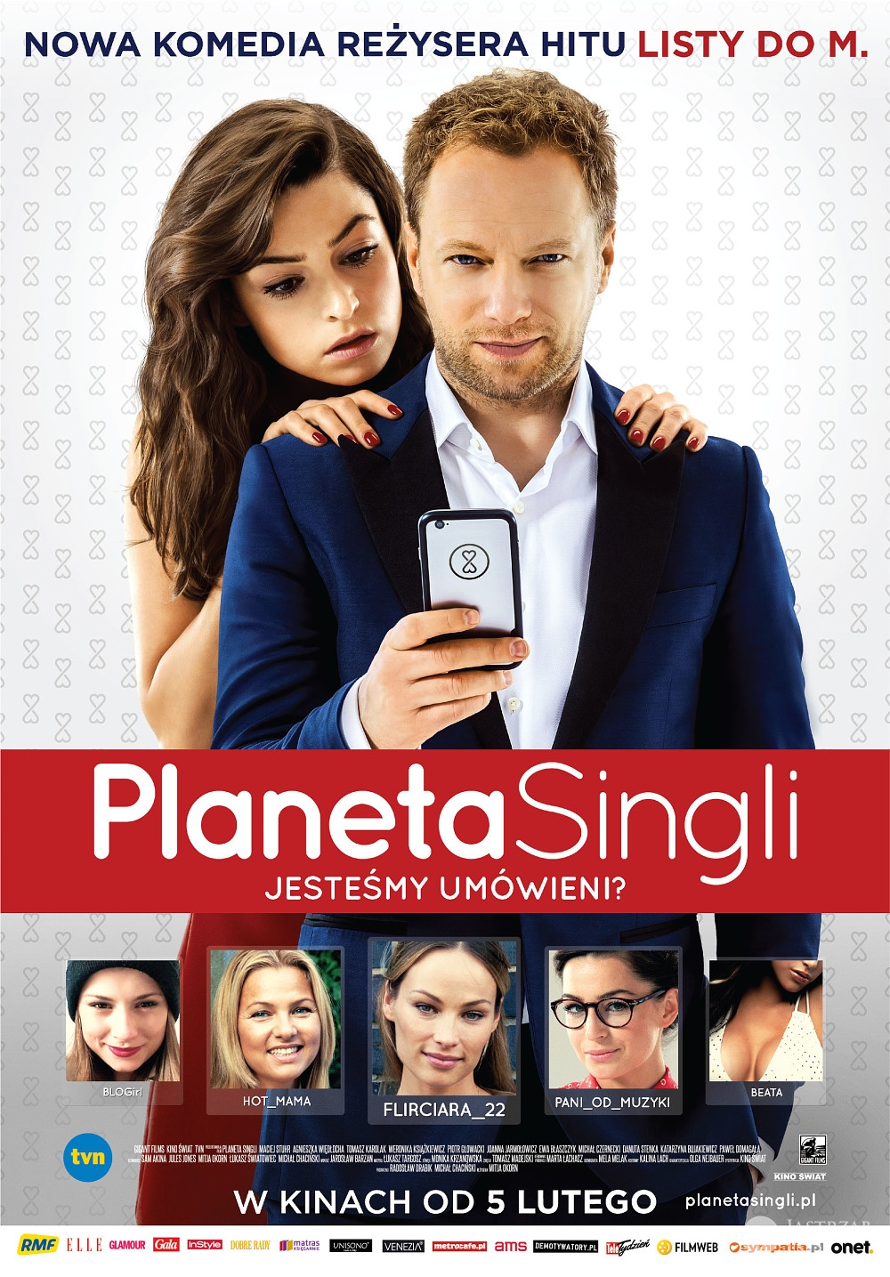 Planeta Singli w Hollywood