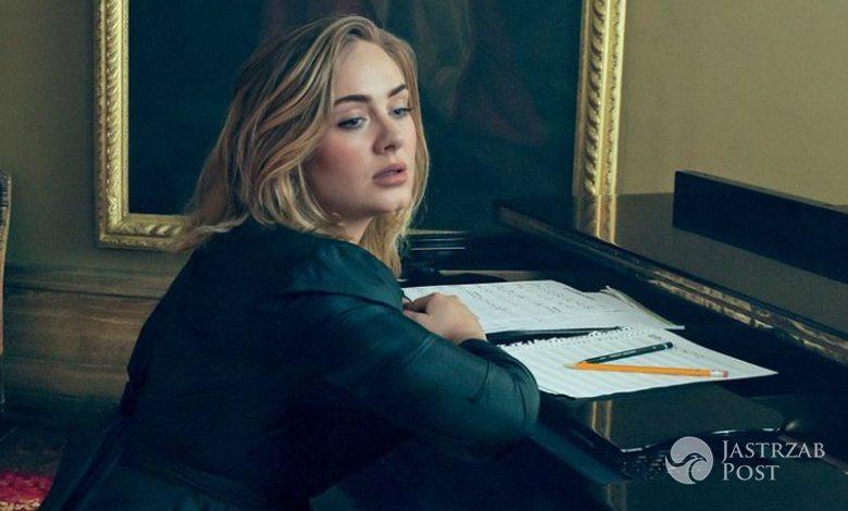 Adele w sesji dla amerykańskiego wydania magazynu Vogue