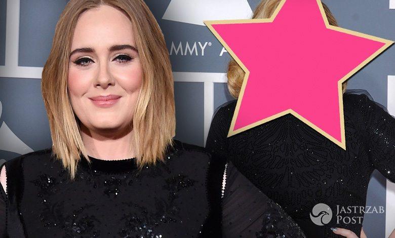 Adele na Grammy 2012 i Adele na Grammy 2016 (fot. ONS)