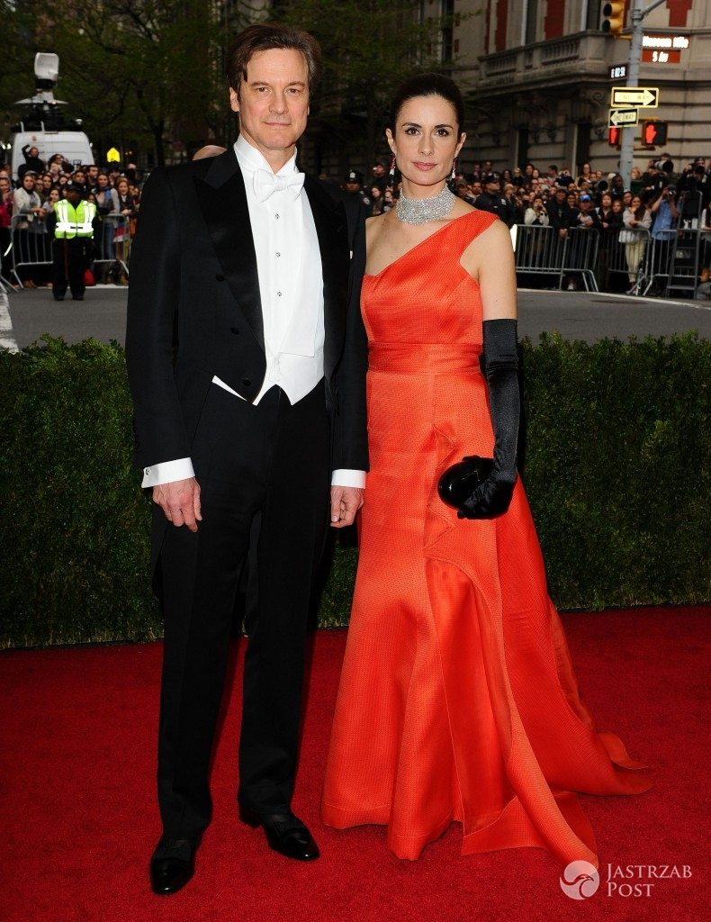 White tie. Colin Firth i Livia Firth, Met Gala (fot. ONS)