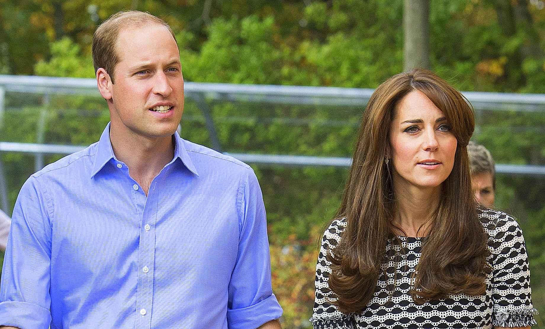 Samobójca pod domem Księcia Williama i Księcia Kate