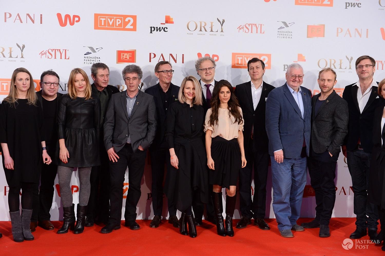 Gwiazdy na ogłoszeniu nominacji do Orłów 2016