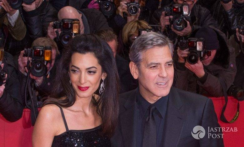 Amal Clooney i George Clooney, ceremonia otwarcia Berlinale 2016 (fot. ONS)