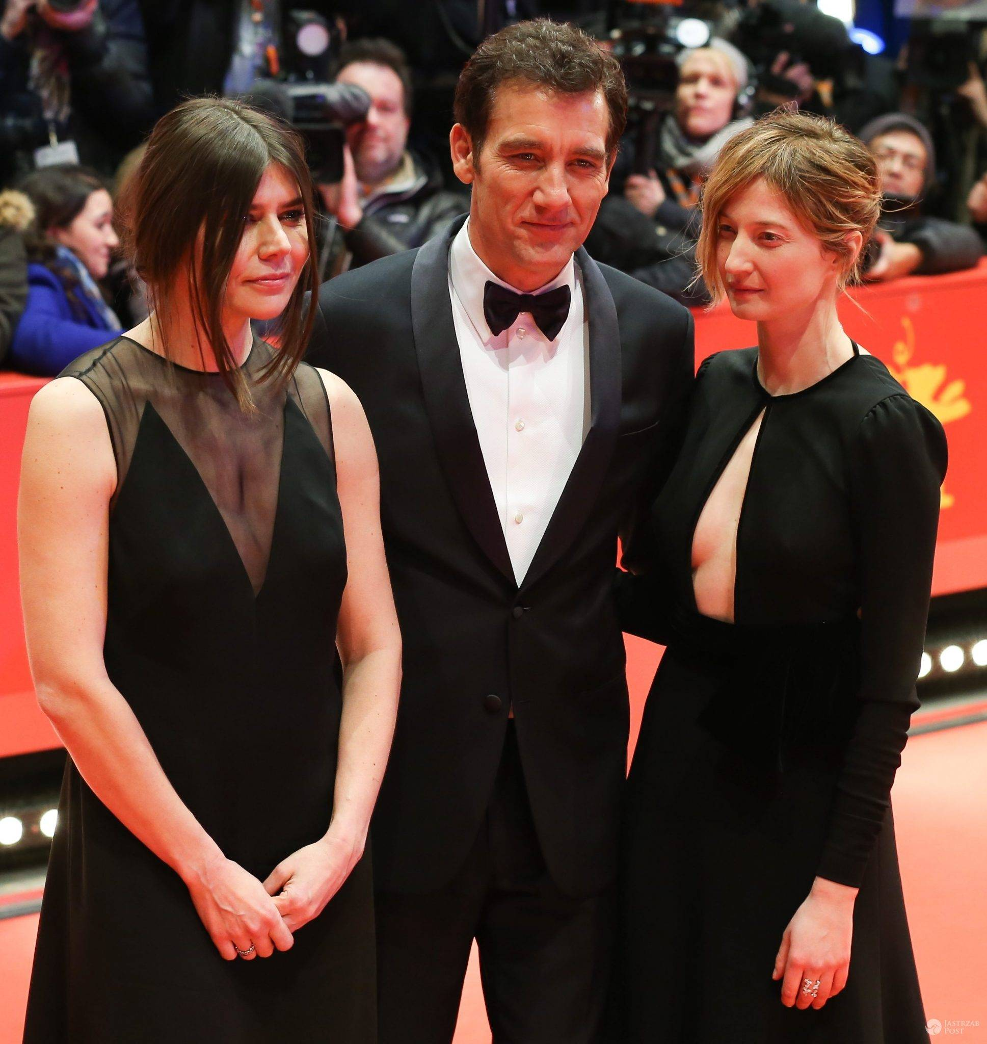 Malgorzata Szumowska, Clive Owen i Alba Rohrwacher, otwarcie festiwalu filmowego Berlinale 2016 (fot. ONS)