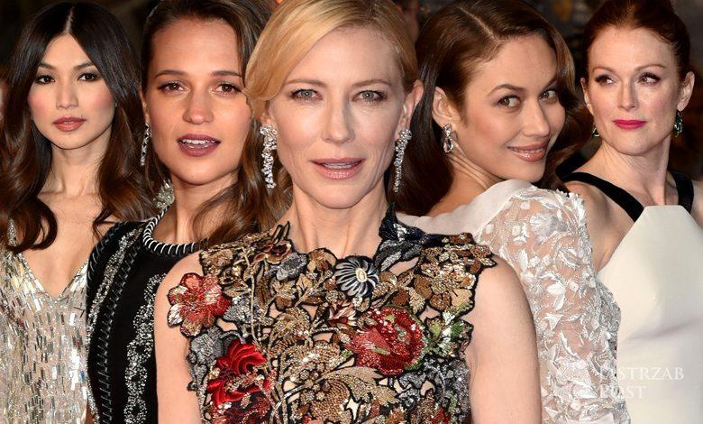 Kreacje gwiazd ma rozdaniu nagród BAFTA 2016 (fot. ONS)