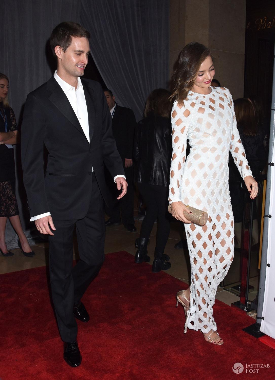 Miranda Kerr and Evan Spiegel - Grammy 2016