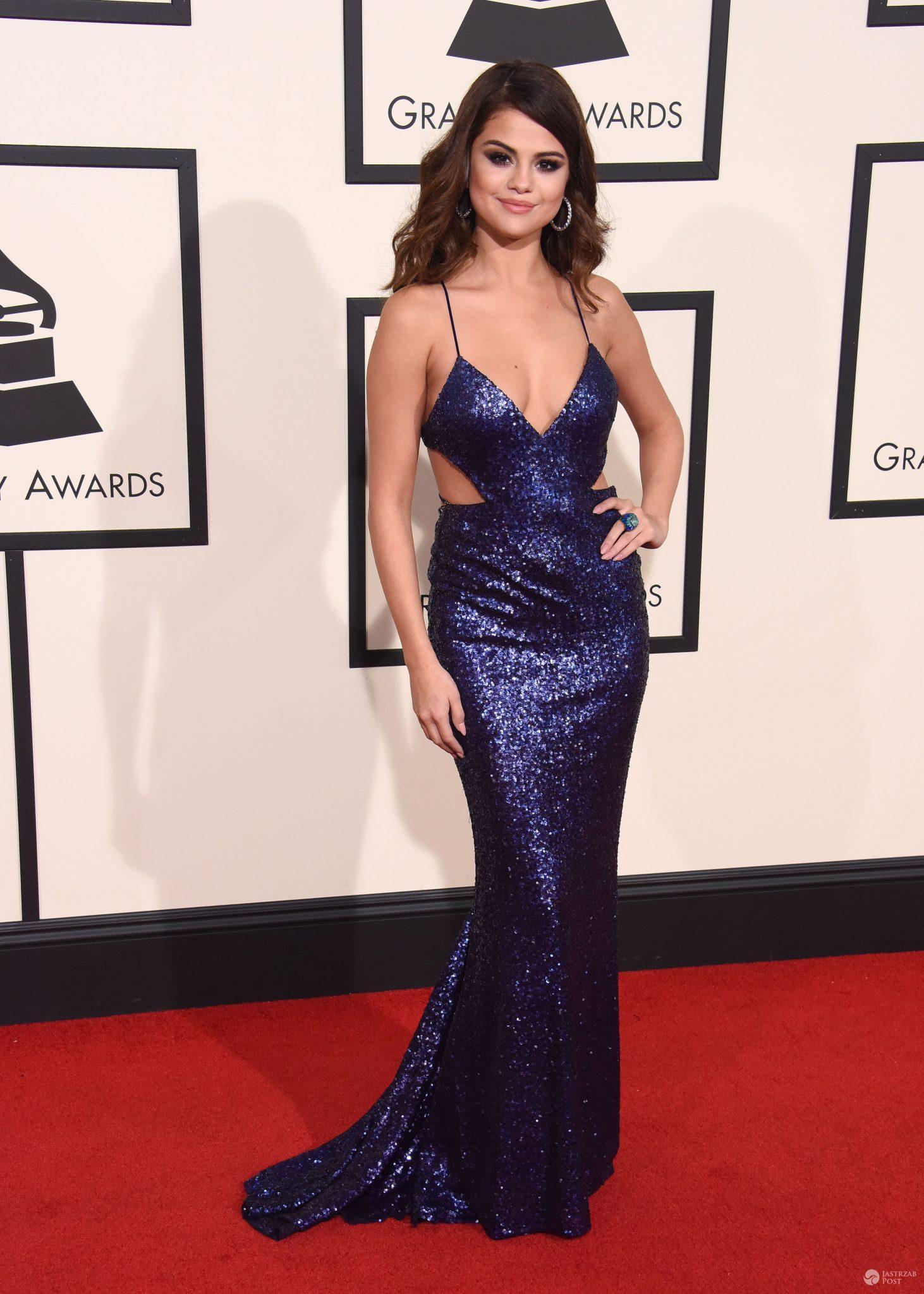 Selena Gomez Grammy 2016 Jastrząb Post