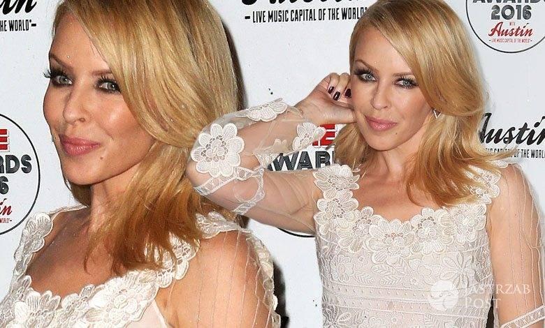 Kylie Minogue, gala NME 2016 (fot. ONS)