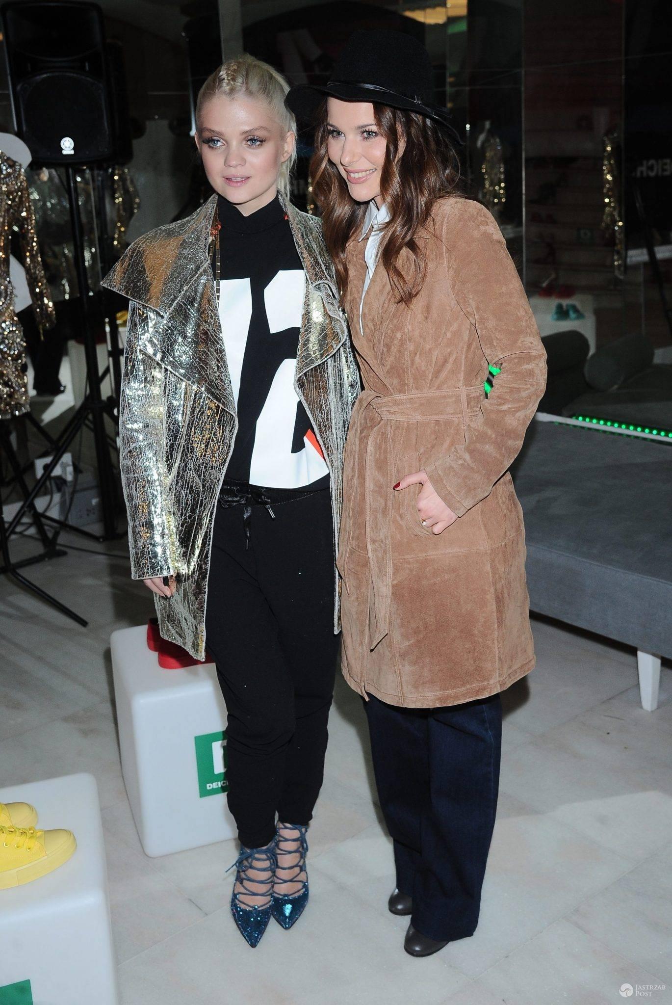 Paulina Sykut-Jeżyna i Margaret, prezentacja nowej kolekcji butów Margaret dla Deichmann (fot. ONS)