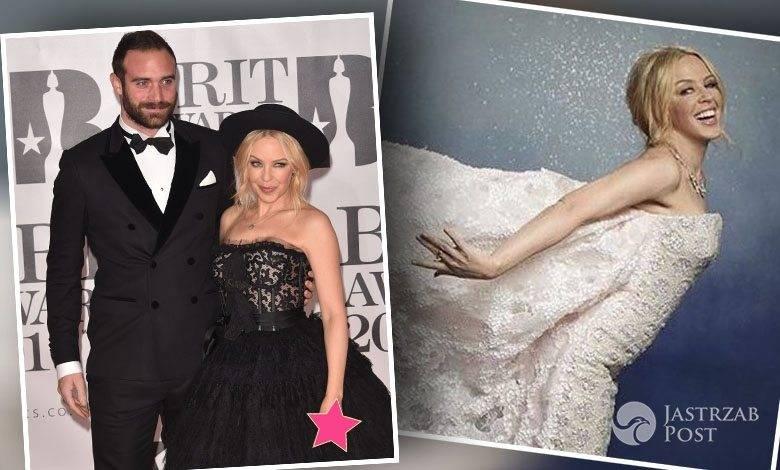 Joshua Sasse, Kylie Minogue, BRIT Awards 2016