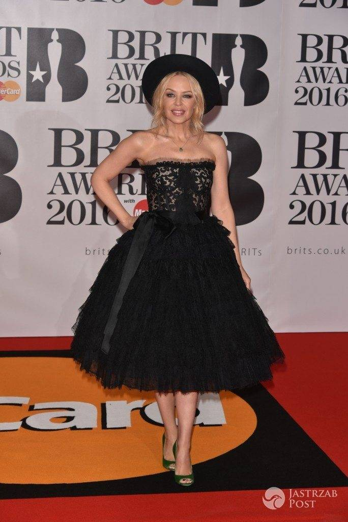 Kylie Minogue - BRIT Awards 2016