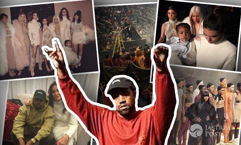 Pokaz trzeciej kolekcji Kanye West Yeezy Season 3 dla Adidas odbył się w hali Madison Square Garden w Nowym Jorku (fot. Instagram)