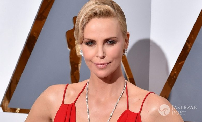 Charlize Theron na Oscarach 2016 (fot East News)