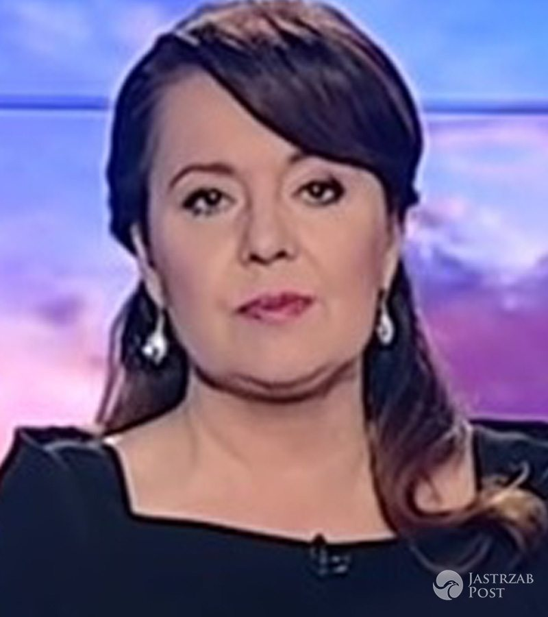 Danuta Holecka w Wiadomościach (2016) fot. screen z youtube.com