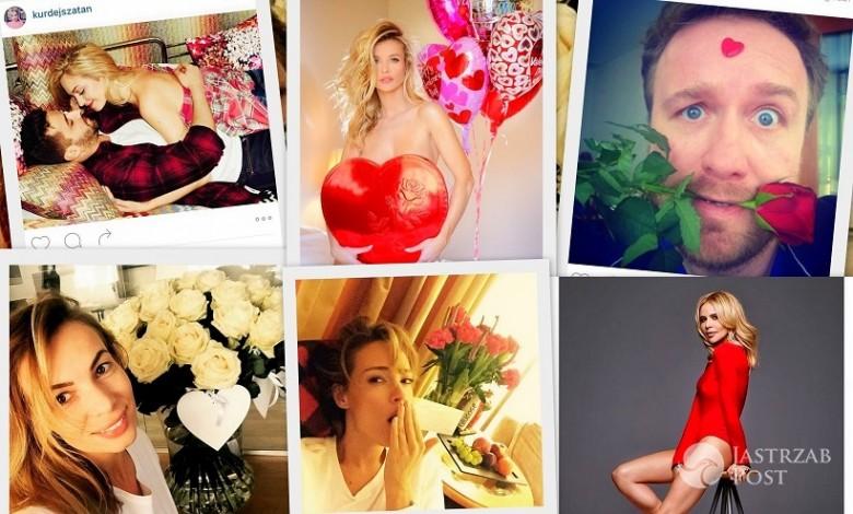Walentynki gwiazd na Instagramie